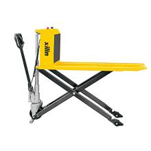 Xilin 1ton 2200lbs manual forklift high Lift hydraulic jack scissor lift hand pallet truck