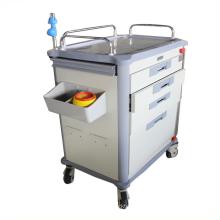 Ce&ISO Fresh ABS Crash Cart hospital Emergency Medical Trolley