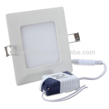 New arrival Manufacturer supplier aluminum round dimmable 120degree good quality 240v 2835 smd square panel led downlight