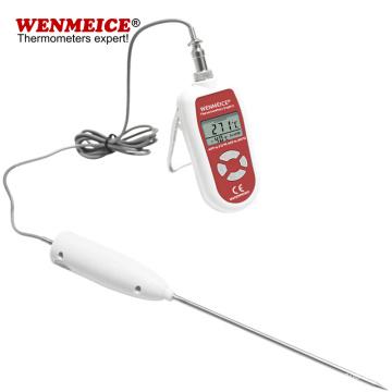 Sondas de termómetro digital LAB de precisión 0.5C con alarma
