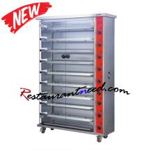 K763 3/6 /9 Layer Electric Chicken Rotisserie