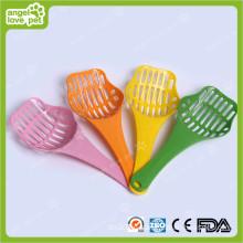 Colorized Kunststoff Katzenstreu Schaufel Haustier Produkte (HN-PG400)