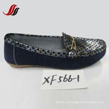 Sapatos Loafer sapatos de couro lazer mais recente (XX562-1)