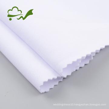 Bleach White 75D Polyester Scuba Fabric Stock Lot