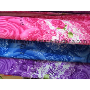 100% Polyester Microfiber Printed Bed Sheet Fabric
