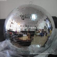 Balle de miroir de Noël géante durable de qualité supérieure durable