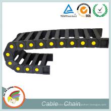 Cadeia de porta-cabos de plástico CNC