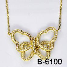 Новый Дизайн Мода Ювелирные Изделия Бабочка Ожерелье