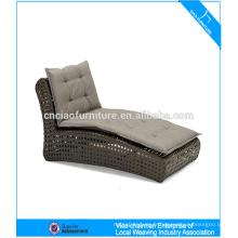 NOUVEAU salon de jardin rotin / osier sun lounge CF1026L