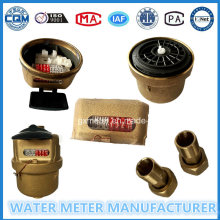 Volume de bronze Kent Medidor de água de Dn15-25mm
