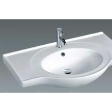B840 High Quality Bathroom Ceramic Cabinet Top Basin