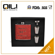 FDA 6oz personalized flask gift for women
