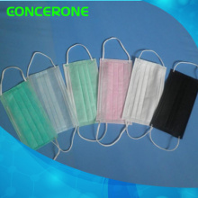 Wegwerfbare Gesichtsmaske des Vliesstoff-3ply mit Earloop für medizinisches / Krankenhaus