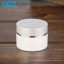 Cilindro de KJ-A15-A 15g redondo delicado alta calidad pequeño y lindo claro envase para cosméticos