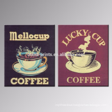 Wall Decoration Coffee Canvas Print/Dropship Shop Poster/Modern Canvas Wall Art for Hotel