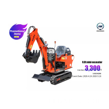 HW08 Mini Crawler Excavator