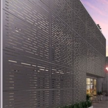 Decorative Metal Patterns for Building Architect