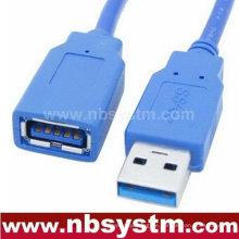 USB 3.0 Ein Stecker zu einem weiblichen Kabel