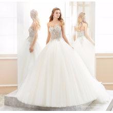 Милая Бисероплетение Кристалл Выпускного Вечера Свадьбы Свадебное Платье