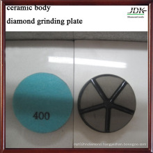 Ceramic Body Grinding Plate for Concrete 400#