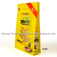 New Design Hot Sale Side Gusset Pet Food Bag in Packaging