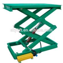 Stationary hydraulic mini wheel alignment scissor car lift