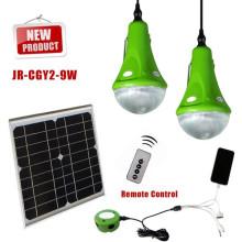 2015 nueva fuera de la red Mini Solar iluminación sistema de para el hogar, exterior, falta de electricidad, luz de emergencia