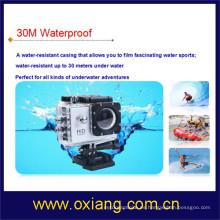 12 megapíxeles a prueba de agua / resistente a la intemperie cámara de acción deportiva