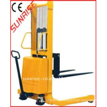 ES15016W semi-battery stacker with CE, electric lift