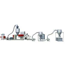 Máquina de granulação de filme plástico Wast Sj-120