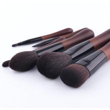 6 pinceaux de maquillage, pinceaux de maquillage en laine, trousses d'outils de beauté portables
