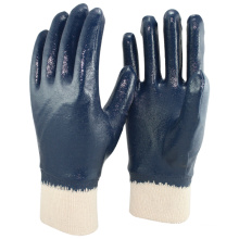 NMSAFETY NBR jersey liner heavy duty nitrile work glove