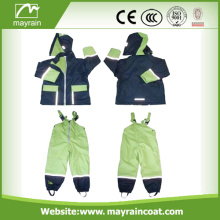 Waterproof PU Soft Light Children Rainsuit