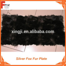 First Quality Silver Fox Fur Plate