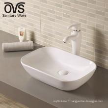 Top vente meilleur contrôle de qualité en céramique classique lavabo décoratif