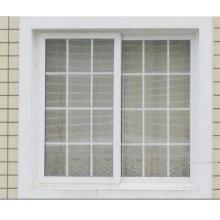 Fenêtre UPVC avec barres coloniales