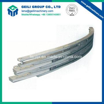 Barra fictícia para processo de fundição de aço