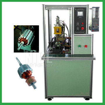 Automatic Rotor commutator surface hot stacking machine