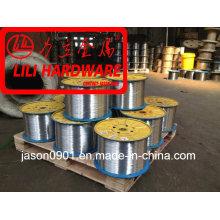 Fio de aço / arame de zinco / fio de temperamento de óleo / fio de esferoidização / fábrica de fio de aço inoxidável
