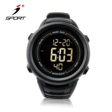 Sports Style Fitness Stopwatch Function Waterproof Heart Rate Monitor