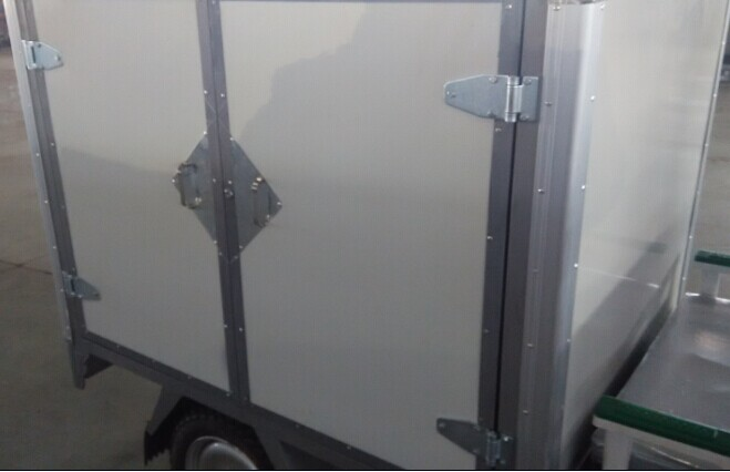 Enclosed Trailer Side Door Lock