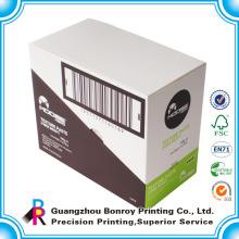 Projeto customizável feito sob encomenda barato do logotipo da fábrica de Guangzhou que imprime a caixa de exposição de papel unusable