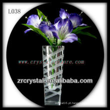 Vaso de cristal agradável L038