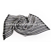 Men's cashmere striped mufflers scarfs