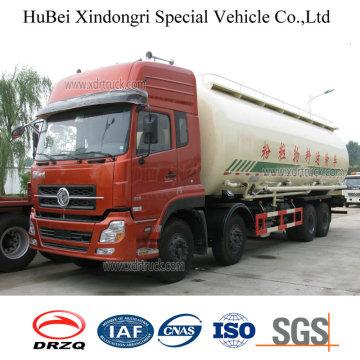 33cbm Dongfeng Euro 3 camión cisterna de grafito en polvo con motor diesel Cummins