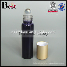5мл 10мл 15мл 20мл стеклянная бутылка пробка с шариком ролика нержавеющей и матовой алюминиевой крышкой