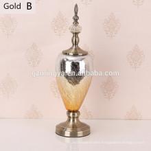 Ornament for home resin crafts procelain bottle lamp decorative family resin bottle