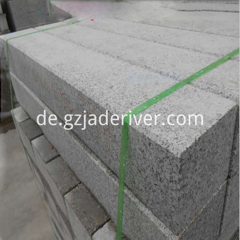 Light Gray Granite Edge Stone
