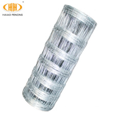 8' fixed knot galvanized pig and goat wire fence, high tensile bonnox fence wire for farm use