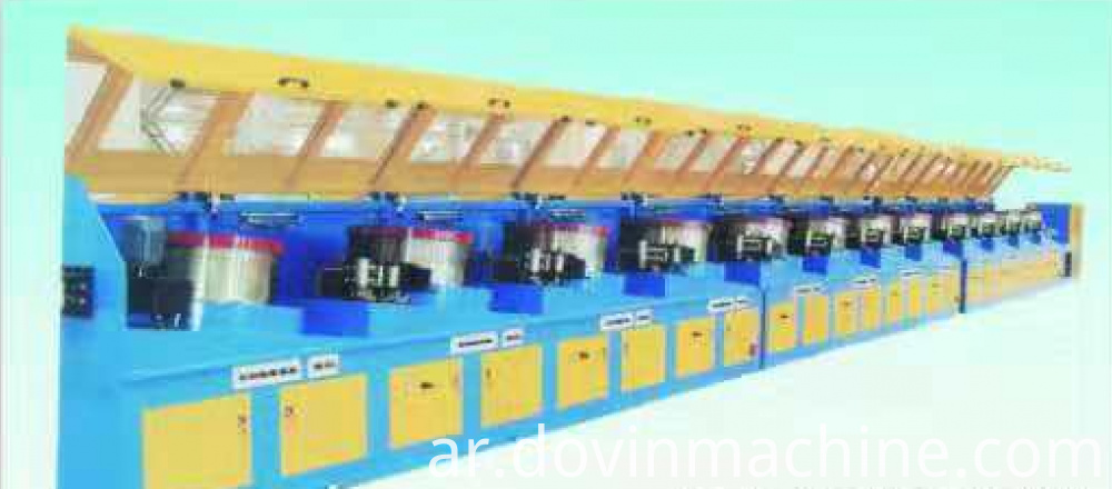 Straight Type Wire Drawing Machine
